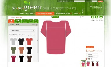 Shirt design tool in Magento